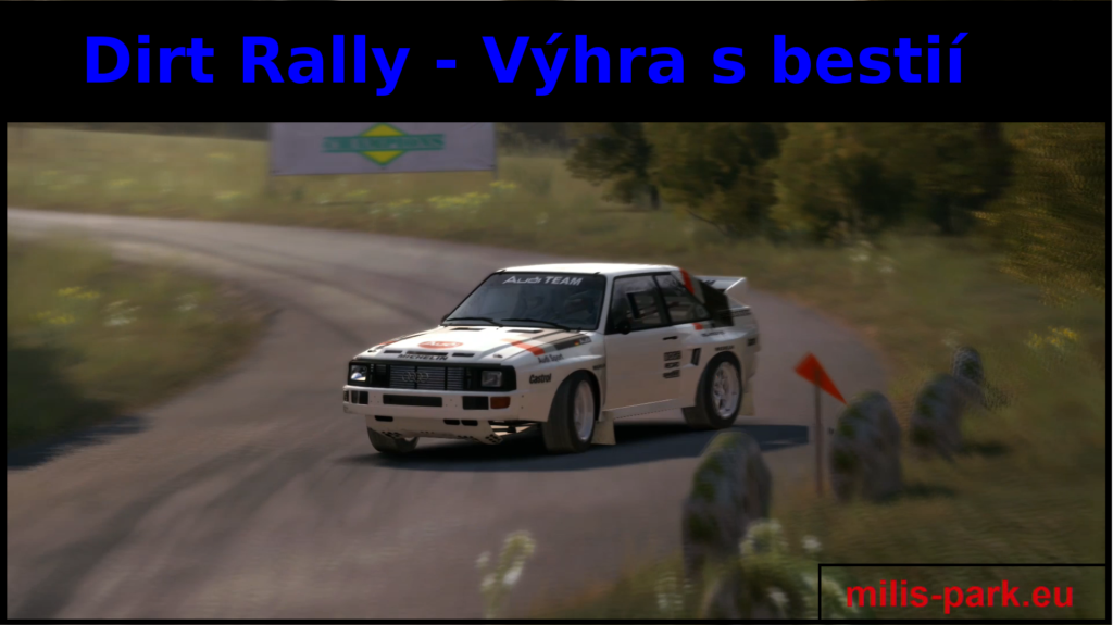 Dirt Rally – Výhra s bestií
